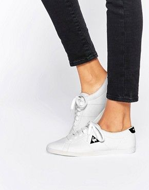 Le Coq Sportif Prinset White Trainers