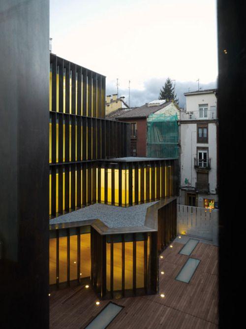 Museo Arqueológico de Vitoria by Fco. Mangado