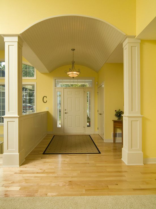 Foyer Living Room Kitchen Church : Half wall design pictures remodel decor and ideas