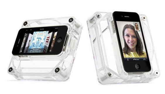 Caixa Acústica AirCurve Play - iPhone 4/4s - BeeK Geek's Stuff  R$ 69,90 www.beek.com.br