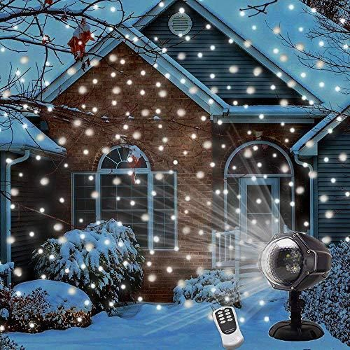 Buy Led Snowfall Projector Lights Christmas Snowflake Projector Light With Wireless Remote Indoor Outdoor Waterproof Snow Falling Landscape Projection Light For Outdoor Christmas Lights Outdoor Christmas Light Projector Halloween Lights Decorations