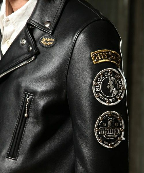 Lewis Leathers X Hysteric Glamour  Lewis Leathers  Pinterest  Glamour And Leather-5172