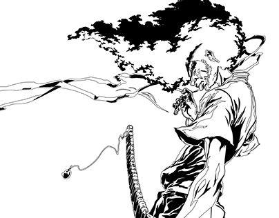 "Check out new work on my @Behance portfolio: ""Afro Samurai ..."