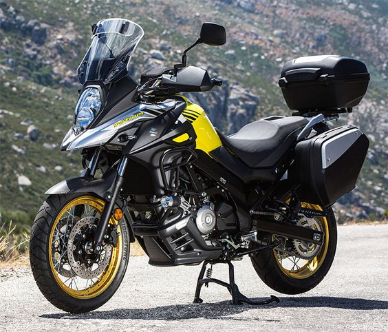 suzuki v strom 650 2017 motocicletas pinterest. Black Bedroom Furniture Sets. Home Design Ideas