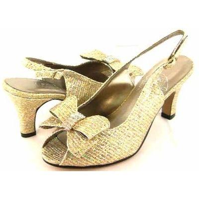 Floral DP721 Womens Gold Dress Shoes [dp721] - $59.99 : Wide Width ...