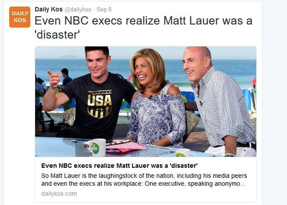 http://www.dailykos.com/story/2016/09/08/1567986/-Even-NBC-execs-realize-Matt-Lauer-was-a-disaster