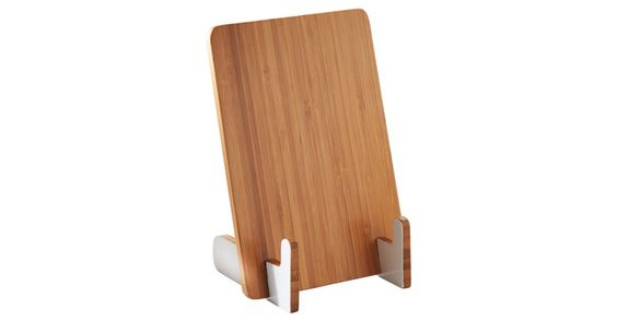 Keep your cookbook fingerprint-free and easy to read with help from this cookbook stand, made of eco-friendly bamboo.Style and innovation have always been the embodiment of the Typhoon brand: with...