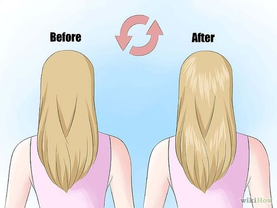 natürlich Haare aufhellen