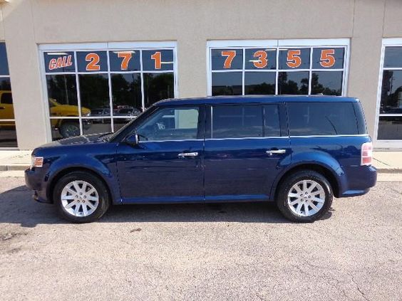 2012 Ford Flex SEL (AWD, HEATED SEATS, 3RD ROW SEATING) BLUE, Sioux Falls, SD