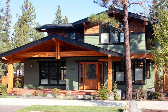 Nw Lodge Style Home Greg Welch Construction Bend Oregon