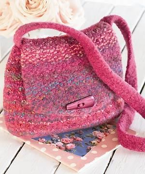 Knitting Pattern Central Bags : Pinterest   The world s catalog of ideas