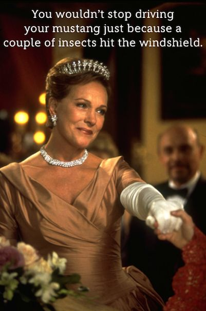10 Life Lessons from Queen Clarisse.  The only thing better than Julie Andrews is Julie Andrews playing a queen.: