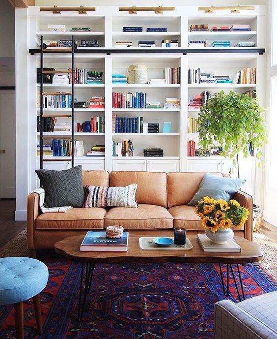 Mua sofa da thật ở đâu trang trí phòng khách thêm rực rỡ cho mùa hè
