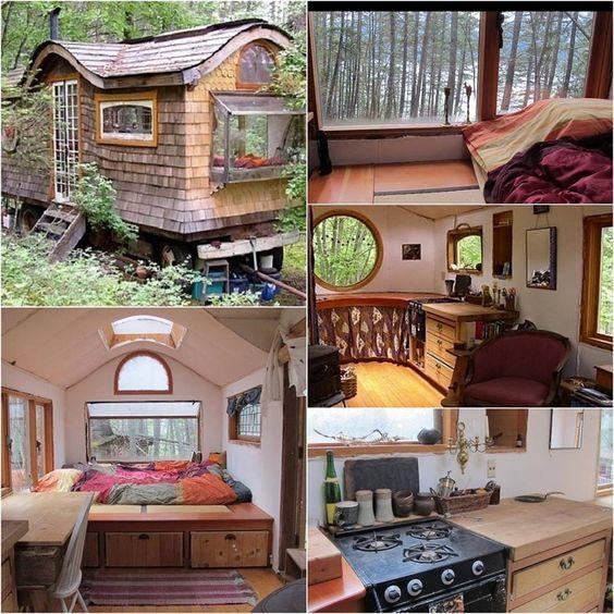 Die Welt der Tiny Houses - der winzigen Häuser zeigt unsere Sehnsucht nach einem einfachen Leben ohne viel Dinge. Dabei braucht man heute kaum noch auf Komfort und Schönheit zu verzichten. Aber der Kreativität sind keine Grenzen gesetzt. Wir zeigen 5 Beispiele für anderes Leben und Wohnen.