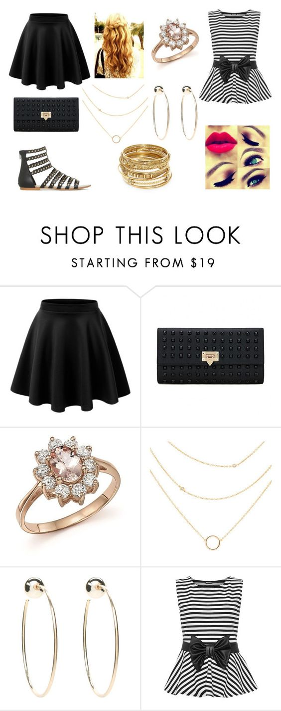 """Elegant"" by caitlyn3321 ❤ liked on Polyvore featuring Bloomingdale's, Bebe, WearAll and ABS by Allen Schwartz"