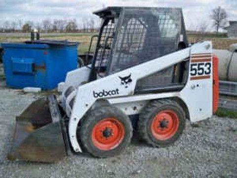 bobcat 553 service manual pdf