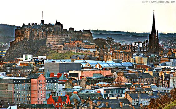 edinburgh castle hdr by gdphotography