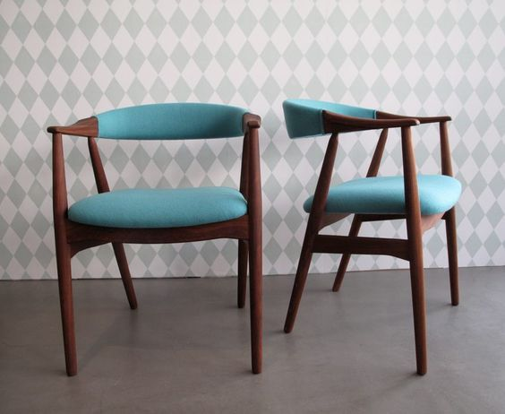 Vintage teak stuhl for Danish design stuhl