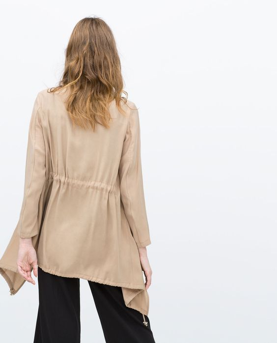 ZARA - WOMAN - LOOSE FIT BLAZER