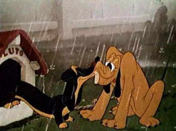Pluto and Dinah