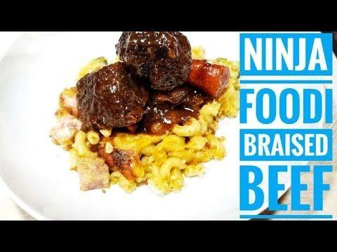 Ninja Foodi Recipe Braised Beef Youtube Braised Beef Braised Recipes