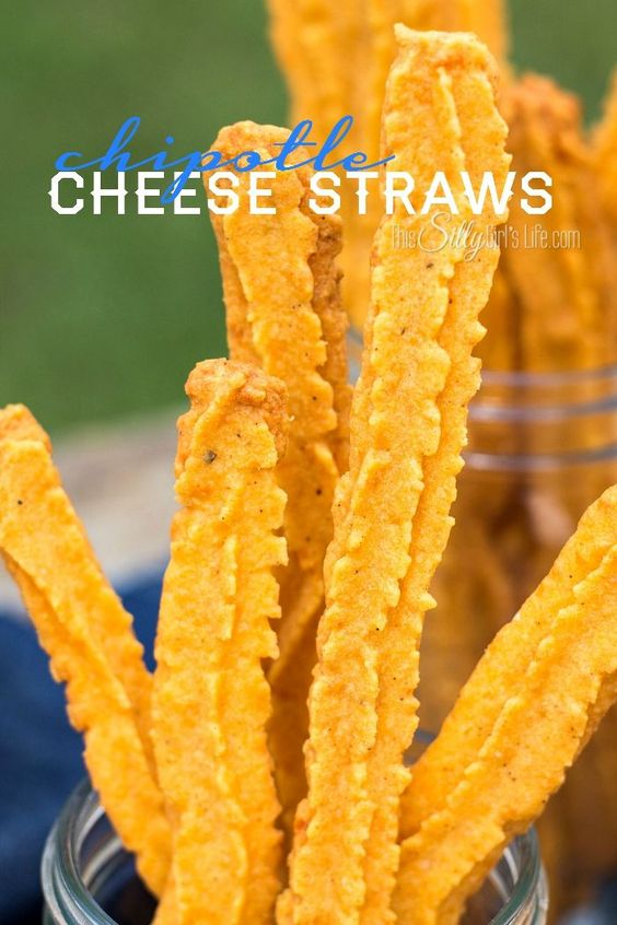 Cheese straws, Chipotle and Straws on Pinterest