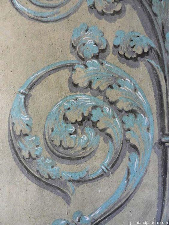 Ornamental Pattern from the Vatican hallways | Paint + Pattern