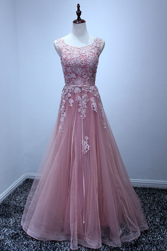 Tulle Prom Dress,A-Line Prom Dress,Appliques Prom Dress,http://www.luulla.com/product/551925/high-quality-prom-dress-tulle-prom-dress-a-line-prom-dress-appliques-prom-dress-pd1700187