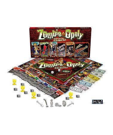 Look at this #zulilyfind! Zombie-opoly Board Game by Late for the Sky #zulilyfinds