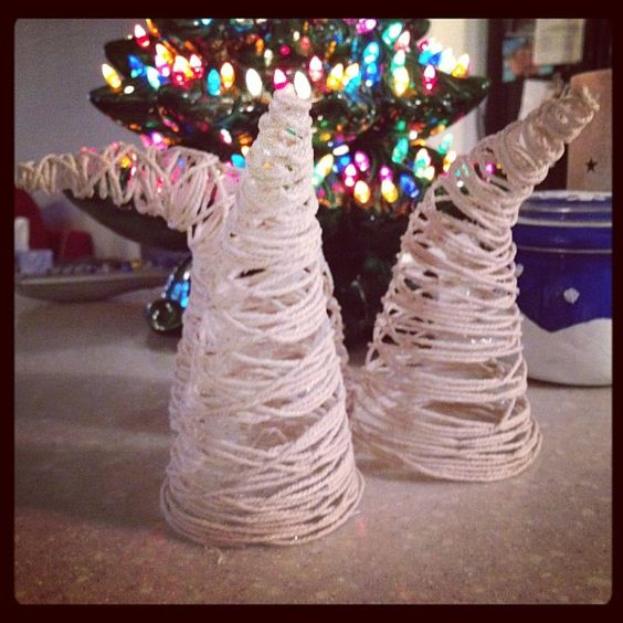 These rope trees end up in Whoville. #pinterestfail