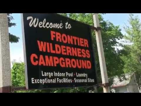 3 Door County Camping And Rv Frontier Wilderness Campground Youtube Campground Door County Door County Wisconsin