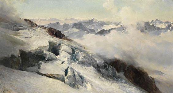 oil painting of snow - Google zoeken