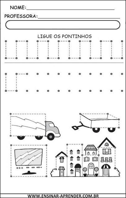 Atividades Para Educacao Infantil Coordenacao Motora Fina Trac