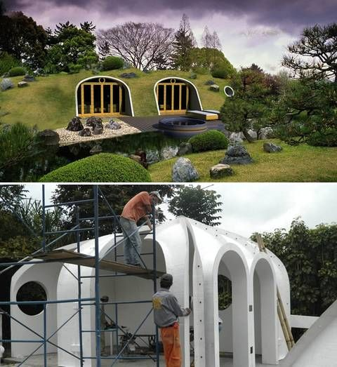 From hobbiton to tatooine earth sheltered homes make for Earth sheltered home cost