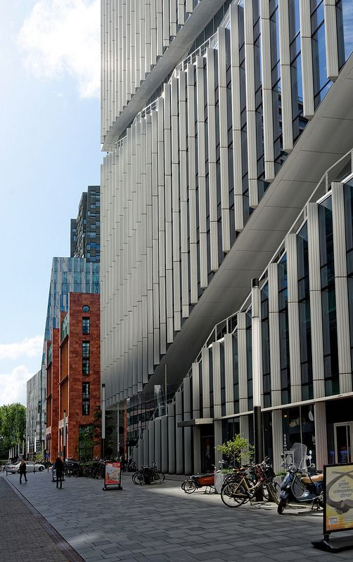 Viñoly, Amsterdam   Office-tower by Rafael Viñoly, part of a…   Flickr - Photo Sharing!