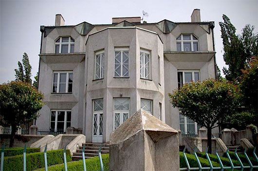 An Example of Cubism in Prague