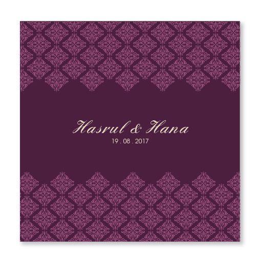 Kad Kahwin By Chantiqs Com Website Kad Kahwin Terkini Kad Kahwin Wedding Invitation Card Design Kad Kahwin Design