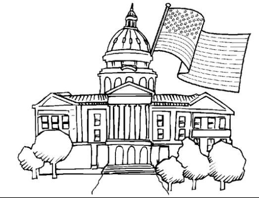 White House Coloring Pages For House Colouring Pages Free Coloring Pages Valentine Coloring Pages