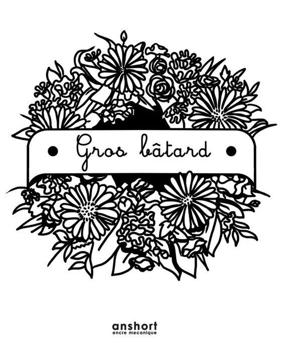 Motif dispo n°127 : Mes condoléances  #tattoo #tatouage #tatouages #motif #dispo #pattern #design #tattoodesign #fleurs #flowerpower #enterrement #tombe #cercueil #creveztous #amour #gerbe