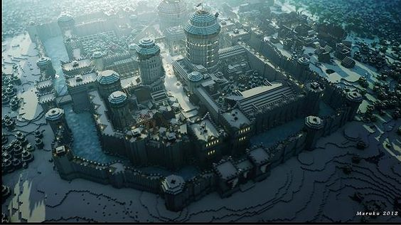 Game of Thrones: Westeros aus Minecraft-Klötzchen - Bilder - Games - FOCUS Online