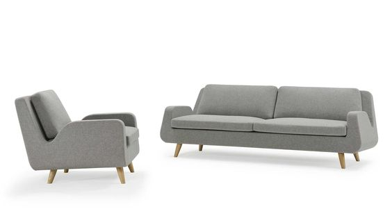 Sofa by Hans Thyge & Co for MXM