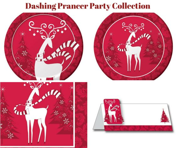 Dashing Prancer Party Banner