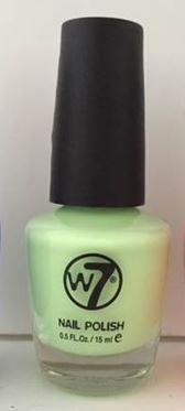 Een nieuwe kleur van W7. Nr 85 is vervangen door deze zomerse felle mix tussen groen en geel. vooral bij een lekker zomers getinte huid staat hij geweldig. Onwijs blij met me nieuwe aanwinst!!!
