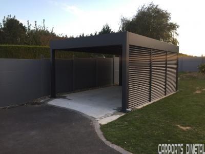 Carport Aluminium Tori Portails Abri Pour Voiture Pergola Dessins Carport Facade Maison
