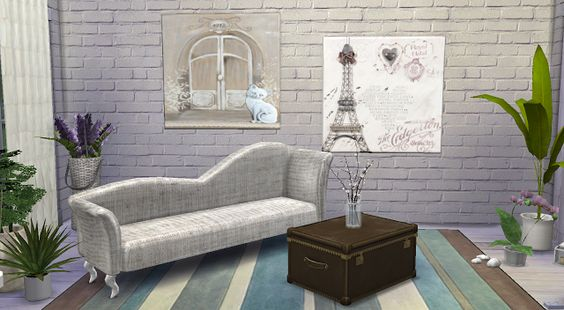 Sims 4 CC's - The Best: Paintings by My little The Sims 3 World