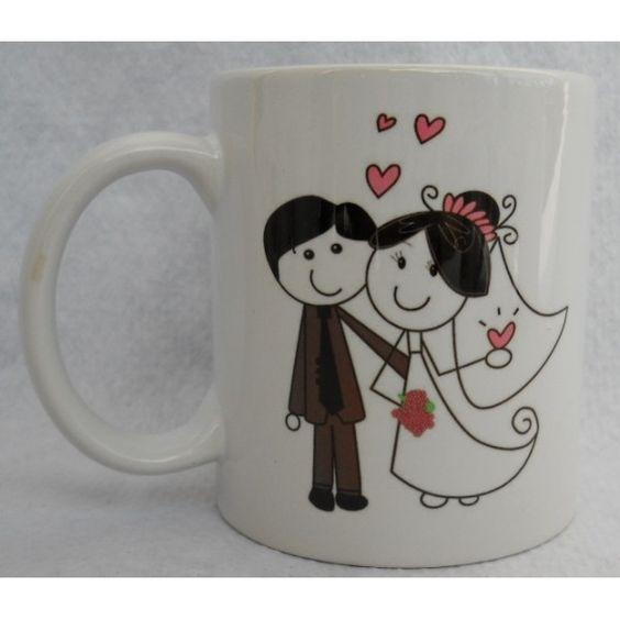 taza personalizadas o mugs personalizados para bodas para ...