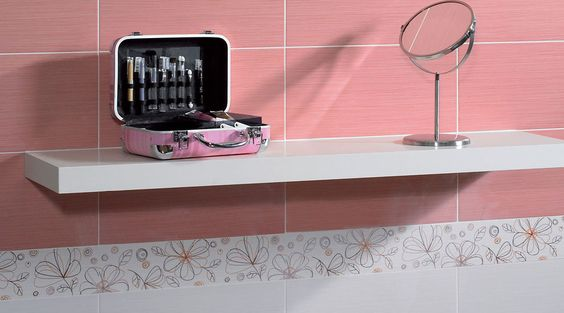 Revestimientos decorativos para el cuarto de ba o colores for Muestras de azulejos