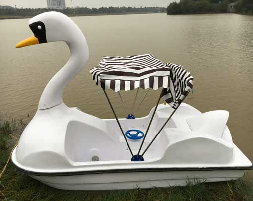 2 Person Swan Paddle Boat for Sale | Paddle boat for sale, Paddle