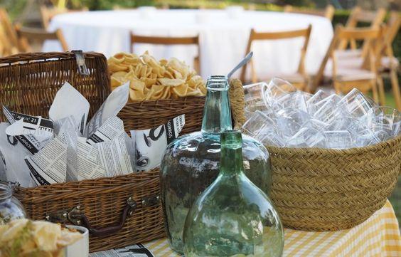 Material para nuestros buffets: