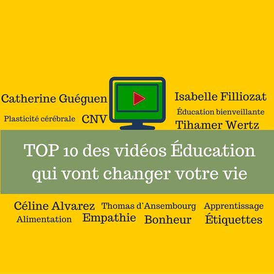 Ces vidéos sont précieuses. Elles contiennent des messages, des conseils et des sources de réflexion qui changeront forcément votre manière d'éduquer ou d'enseigner.